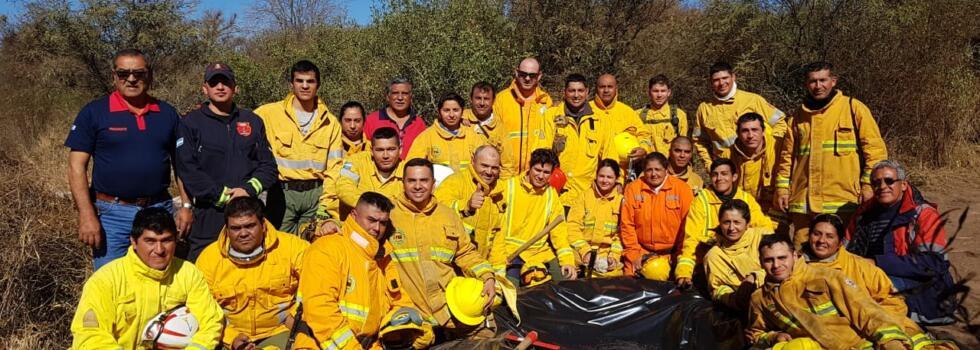 Capacitación en Incendios Forestales para Bomberos de Tucumán