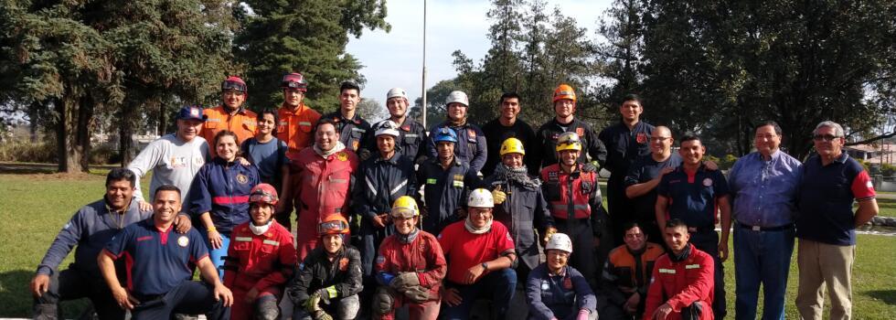 Rescate urbano para bomberos de Tucumán
