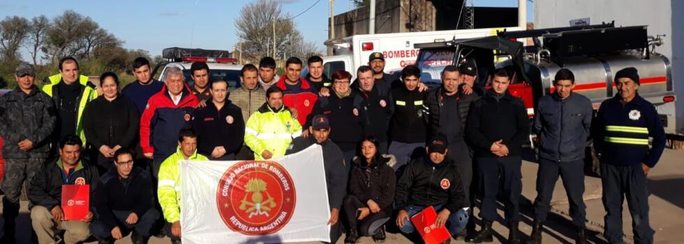 Curso de Socorrismo para los bomberos de Chaco