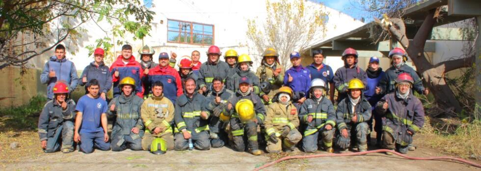 Capacitación de Incendios Estructurales en Valle Viejo