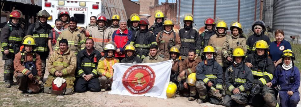 Incendios Estructurales para bomberos de Chaco