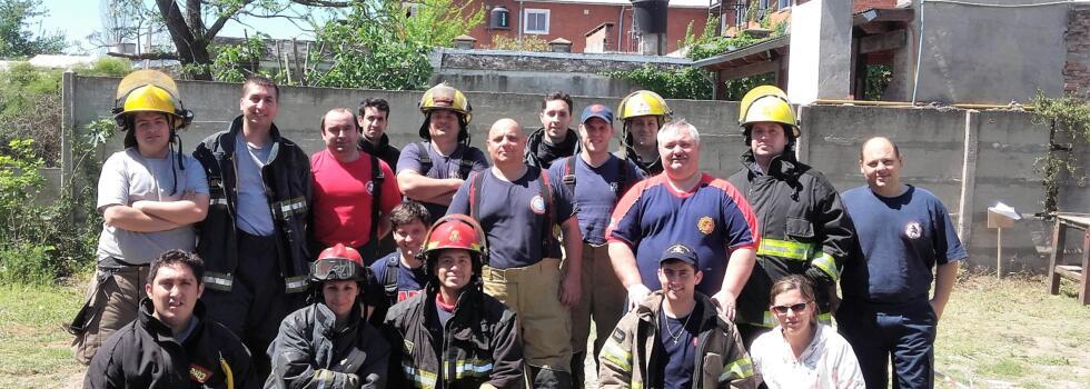Incendios Estructurales para bomberos de Santa Fe