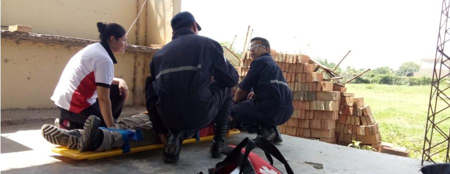 Los bomberos de Salta se capacitaron en Socorrismo