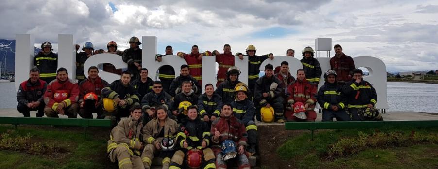 Curso de Incendios en Edificios de Altura en Ushuaia