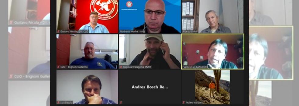 Importante Reunión entre ANB – CUO – Servicio Nacional de Manejo del Fuego