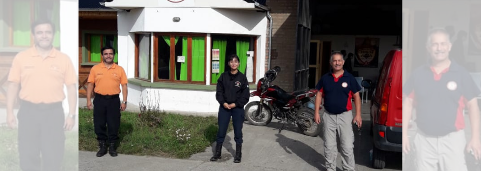 El Departamento Psicología de la Emergencia trabaja en Chubut