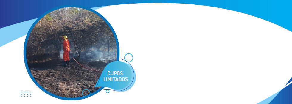 """Relanzamiento del curso:  """"Incendios Forestales: Conceptos Básicos"""""""