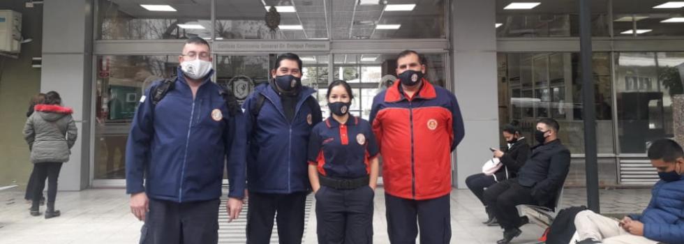Representantes de la ANB se capacitaron con Policía Federal Argentina