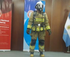 Bomberos de Argentina participaron del Dress Fast 2021