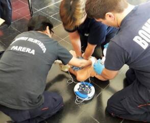Día Mundial del RCP: la importancia de la capacitación en los Bomberos Voluntarios